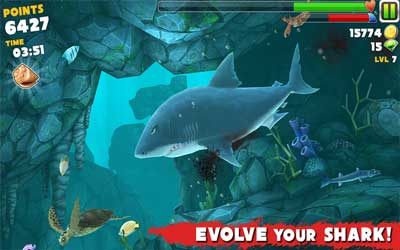 Hungry Shark Evolution 2.4.0 Screenshot 1