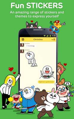 LINE 4.5.3 Screenshot 1