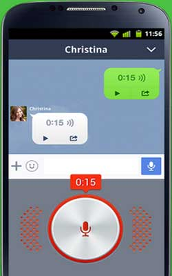 LINE 5.4.1 Screenshot 1
