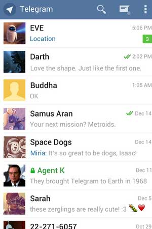Telegram 1.6.0 Screenshot 1