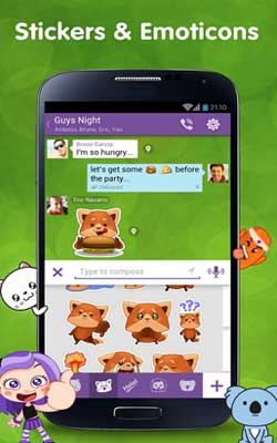Viber 4.3.1.21 Screenshot 1