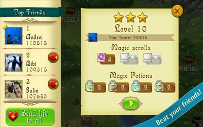 Bubble Witch Saga 3.1.8 Screenshot 1