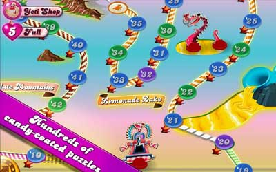 Candy Crush Saga 1.59.0.3 Screenshot 1