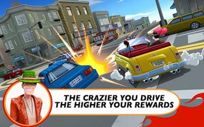 Crazy Taxi City Rush 1.0.1 Screenshot 1