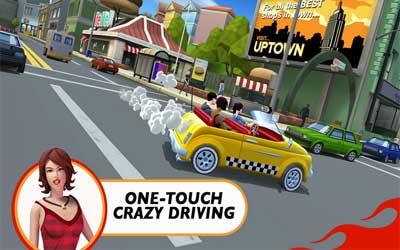 Crazy Taxi City Rush 1.0.2 Screenshot 1