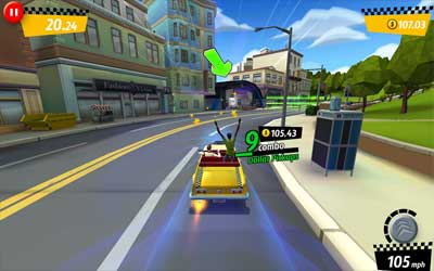 Crazy Taxi City Rush 1.0.3 Screenshot 1