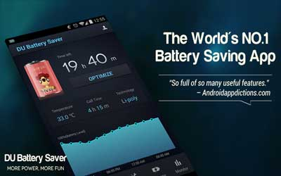 DU Battery Saver & Widgets 3.7.1 Screenshot 1