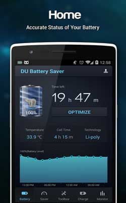 DU Battery Saver 3.9.9.6 Screenshot 1