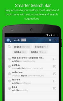 Dolphin Browser 11.1.7 Screenshot 1