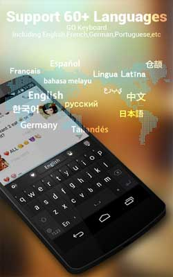 GO Keyboard (Emoji Free) 2.18 Screenshot 1