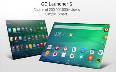 GO Launcher EX 5.02 Screenshot 1