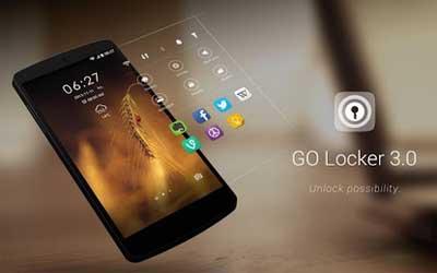 GO Locker 3.06 Screenshot 1