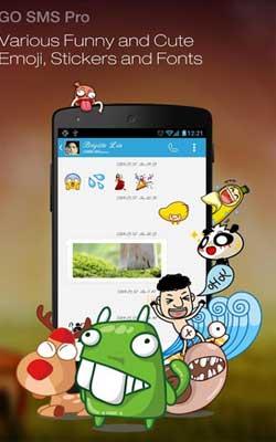 GO SMS Pro 6.24 Screenshot 1