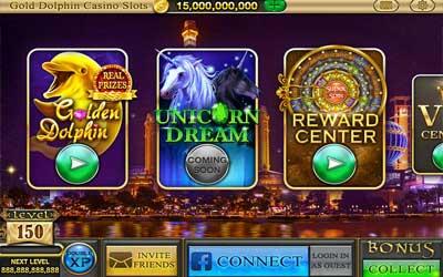 Gold Dolphin Casino Slots 1.1.3 Screenshot 1