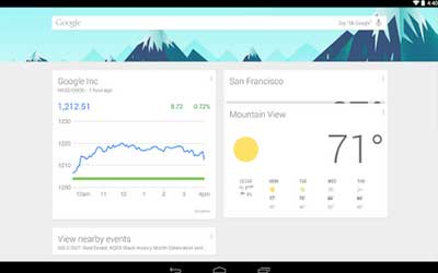 Google Now Launcher 1.1.0.1167994 Screenshot 1