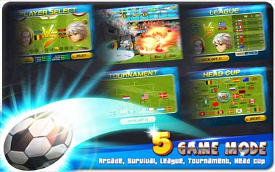 Head Soccer 3.4.9.2 Screenshot 1
