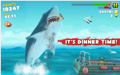 Hungry Shark Evolution 3.7.4 Screenshot 1