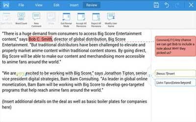 Kingsoft Office FREE + PDF 6.1 Screenshot 1