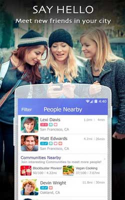 LINK – with people nearby 1.0.8 Screenshot 1
