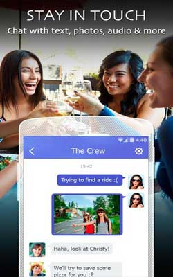 LINK – with people nearby 1.1.6 Screenshot 1