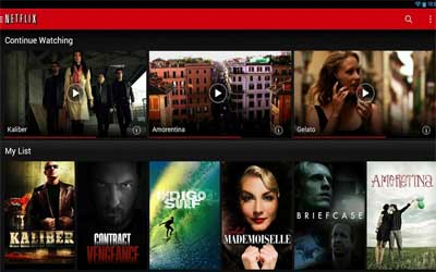 Netflix 3.7.0 Screenshot 1