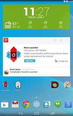 Nova Launcher 3.2 Screenshot 1