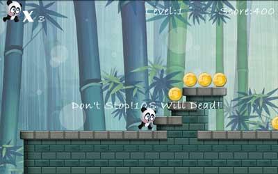 Panda Run 2.3.0 Screenshot 1