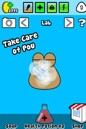 Pou 1.4.61 Screenshot 1