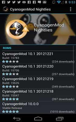 ROM Manager 5.5.3.7 Screenshot 1
