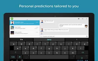 SwiftKey Keyboard Free + Emoji 5.0.1.87 Screenshot 1