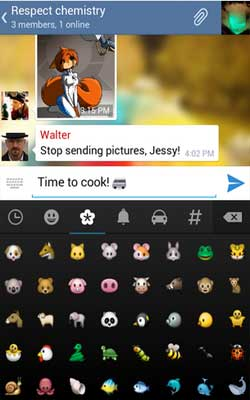 Telegram 2.4.0 Screenshot 1