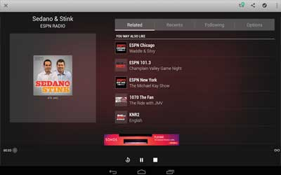 TuneIn Radio 12.4 Screenshot 1