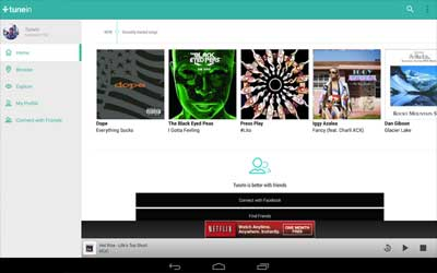 TuneIn Radio 12.8 Screenshot 1