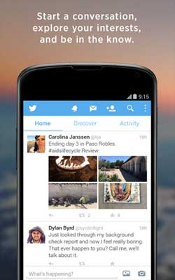Twitter 5.20.0 Screenshot 1