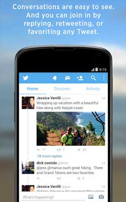 Twitter 5.40.0 Screenshot 1