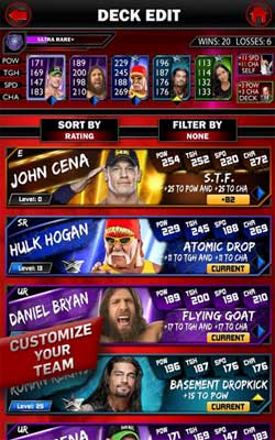 WWE SuperCard 1.5.0 Screenshot 1
