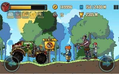 Zombie Road Racing 1.0.3 Screenshot 1
