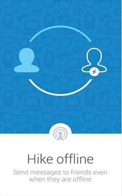 hike messenger 3.1.0 Screenshot 1