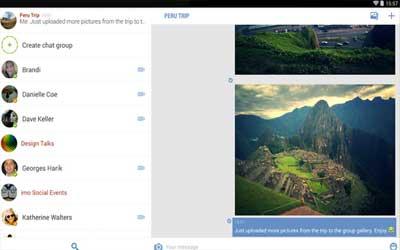 imo beta free calls and text 5.7.4 Screenshot 1