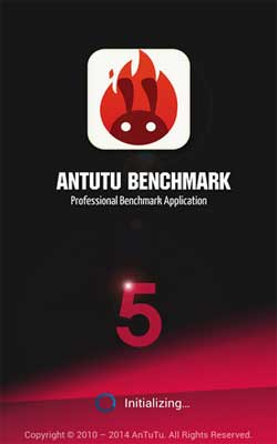 AnTuTu Benchmark 5.1 Screenshot 1