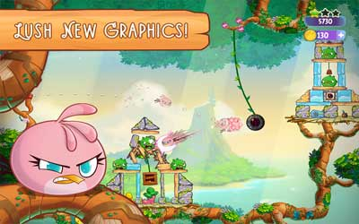 Angry Birds Stella 1.1.4 Screenshot 1