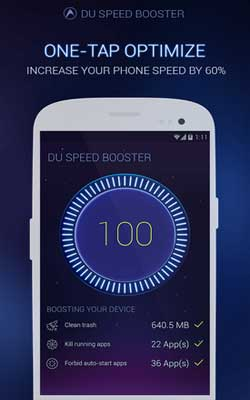 DU Speed Booster 2.1.2 Screenshot 1