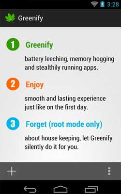Greenify 2.6.2 Screenshot 1
