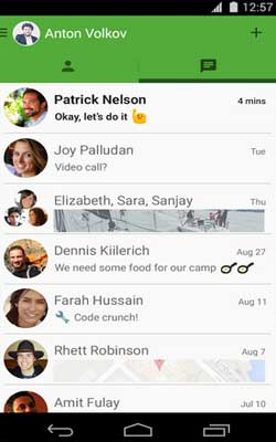 Hangouts 2.4.78234730 Screenshot 1
