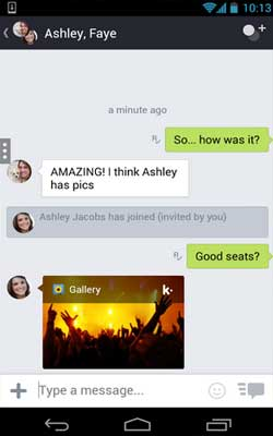 Kik 8.3.0.678 Screenshot 1