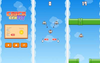 Chick Can Fly 1.1.0 Screenshot 1