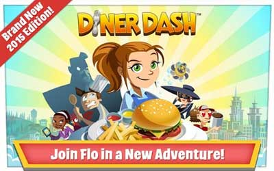 Diner Dash 1.5.5 Screenshot 1