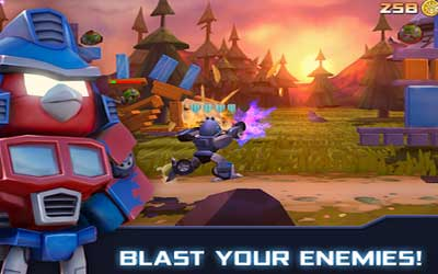 Angry Birds Transformers 1.5.18 Screenshot 1