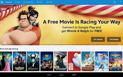 Disney Movies Anywhere 1.1.2 Screenshot 1