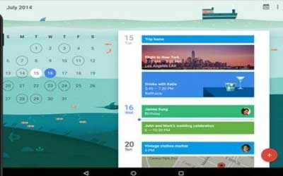 Google Calendar 5.0 Screenshot 1